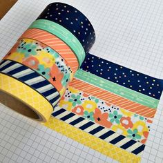 Bright Washi Tape 15mm X 10m Collage Supplies Pink Panda Scales