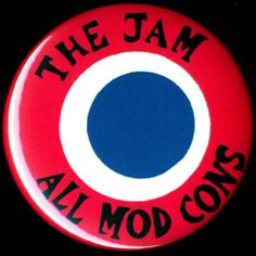ALL MOD CONS The Jam Badge Button Pinback Pin by BeatGorilla