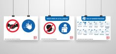 Te bestellen bij BLS Reclame! #covid19 #coronavirus #preventie #signing #blsreclame