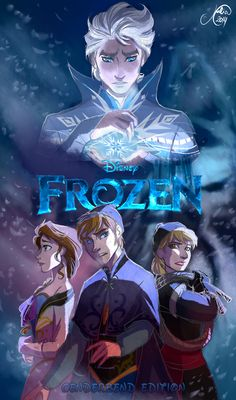 Genderbent Frozen Cover - How cool would it be if they made this version? It would be different for  them