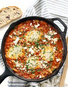 15 Shakshuka Recipes for Breakfast or Dinner via Brit + Co