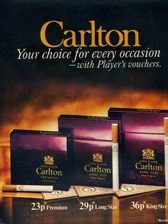 carlton cigarettes | Recent Photos The Commons Getty Collection Galleries World Map App ...