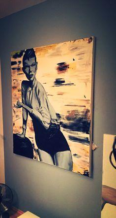 120 cm x 100 cm Öl, Acryl noname women