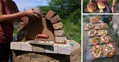 Pomocou tohto DIY nápadu s návodom si postavíte vonkajšiu hlinenú pec na úžasný chlieb či pizzu do 20€. Kreatívny projekt urob si sám - vonkajšia pec Clay Oven, Wood, Diy, Crafts, Gardening, Architecture, Design, Ideas, Arquitetura