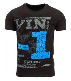 Pánske čierne tričko