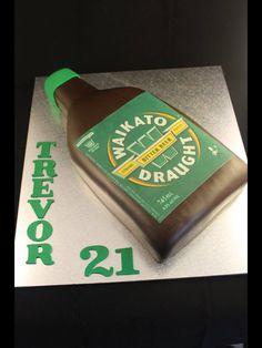Waikato beer bottle cake