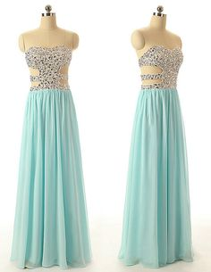 Sweetheart Prom Gowns Floor Length Prom Dresses, Chiffon Blue Party Dress ,Sexy Prom Gowns Off The Shoulder Homecoming Dress