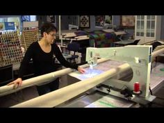 Video 11 Advancing to the Next Row (Pantograph quilting on a longarm quilting machine) - YouTube
