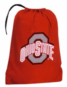 Amazon.com : NCAA Ohio State Buckeyes Laundry Team Logo Design Bag, Red : Sports Fan Bags : Sports & Outdoors