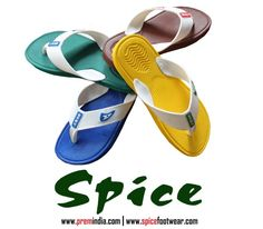 Colorful, bright and high fashion flip flops for HIM from SPICE