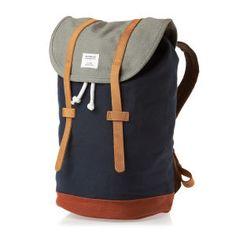 Sandqvist Backpacks - Sandqvist Stig Multi Blue/Grey Backpack - Multi Blue/Grey  http://ebagsbackpack.tumblr.com/