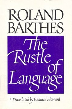 Roland Barthes