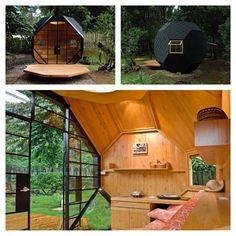 Habitable Polyhedron Designed By Colombian Architects Manuel Villa And  Alberto González Sepúlveda #interiors #interiordesign