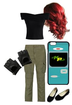 """Kim Possible-Halloween"" by the-minky on Polyvore featuring rag & bone and Chicwish"