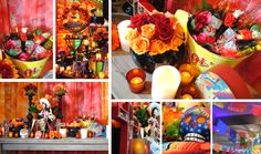 day of the dead wedding table ideas | SOL, Day of the Dead