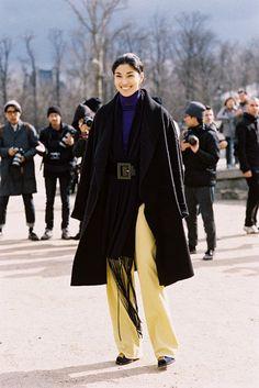 Vanessa Jackman: Paris Fashion Week AW 2014....Caroline