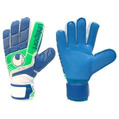 Uhlsport Fangmaschine Soft HN Soccer Goalkeeper Glove (Blue): http://www.soccerevolution.com/store/products/UHL_90056_E.php
