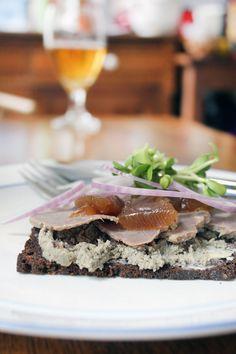 Dyrlægens Natmad (the Veterinarian's Midnight Snack) | Danish Open Sandwiches (Smørrebrød)