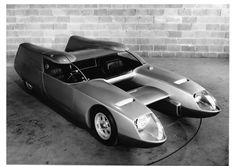 The Bisiluro Silver Fox was a Prototype by the Italian Car Maker O.S.I. 1967