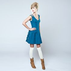 Alexandria Dress Blue now featured on Fab. $67