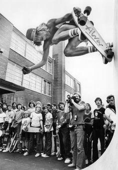 Tony Alva in Toronto in 1977.
