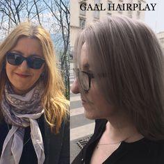 Grey-sand hair color