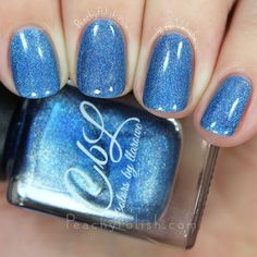 Colors By Llarowe Ice Ice Baby | Winter 2015 Collection | Peachy Polish