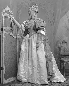 Lady Rose Leigh, later Countess of Cottenham, née Nevill as the Duchesse de Villars