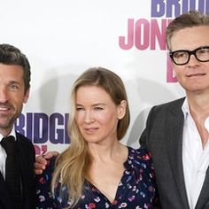 Stars of Bridget Jones's Baby attend a photocall in Madrid