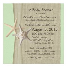 >>>Cheap Price Guarantee          	Starfish and Burlap Look Bridal Shower Custom Invitation           	Starfish and Burlap Look Bridal Shower Custom Invitation you will get best price offer lowest prices or diccount couponeShopping          	Starfish and Burlap Look Bridal Shower Custom Invita...Cleck Hot Deals >>> http://www.zazzle.com/starfish_and_burlap_look_bridal_shower_invitation-161406487636087726?rf=238627982471231924&zbar=1&tc=terrest
