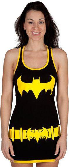 Batgirl Tank Dress