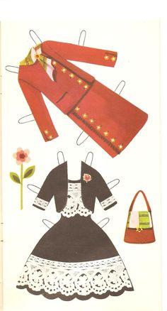 Miss Missy Paper Dolls: Jenny doll Dressing