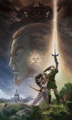 The Legend of Zelda: A Tribute by Gjaldir.deviantart.com on @deviantART