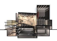 Section of the Western Australian State Theatre by Kerry Hill Architects