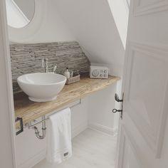 After: Bathroom Remodel Sink, Vanity, House, Bathrooms, Home Decor, Sink Tops, Dressing Tables, Vessel Sink, Powder Room