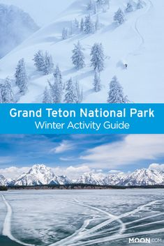 When snow settles on Grand Teton National Park, winter gear comes out! Learn about accessible areas of the park for skiing, snowshoeing, and snowmobiling, and get tips on staying safe while exploring the park in winter. Source by moonguides Look winter National Parks Usa, Grand Teton National Park, Rocky Mountain National Park, Yellowstone National Park, Yellowstone Camping, Yellowstone Winter, Viewing Wildlife, Get Outdoors, Winter Travel