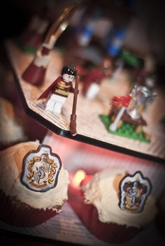 Harry Potter wedding cupcakes