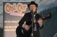 Der vielseitige Alleinunterhalter für ein gelungenes Fest: CoolCat an Gewerbeausstellung in Solothurn www.alleinunterhalter-coolcat.ch