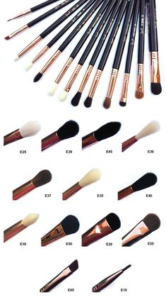 Sigma Ultimate Copper Eye Makeup Brush Set – Beauty Make up Styles Makeup Brush Storage, Makeup Brush Cleaner, Makeup Brush Holders, Makeup Brush Set, Eye Makeup Brushes, How To Clean Makeup Brushes, Makeup Tools, Makeup Guide, Makeup Remover