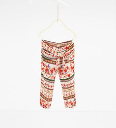 ZARA - NEW IN - Flowing printed trousers