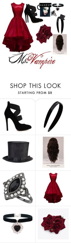 """""""Untitled #93"""" by stilldreamin ❤ liked on Polyvore featuring France Luxe, WigYouUp, Miss Selfridge and Rock 'N Rose"""