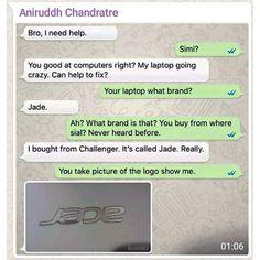 Jade Branded Laptop