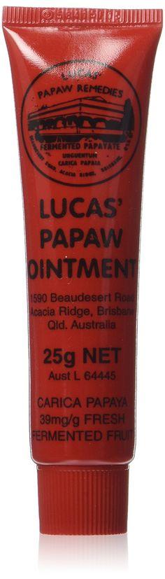 Amazon.com : Lucas' Papaw Ointment 25g : Lip Balms And Moisturizers : Beauty
