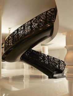 staircase at mondrian south beach hotel by marcel wanders