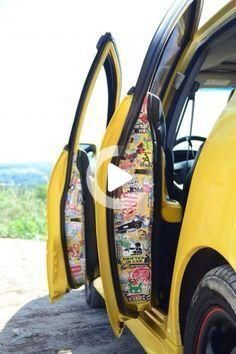 Aug 25, 2016 - There are so many different options when it comes to vinyl car wrap and decal placement. #cars #carinterior