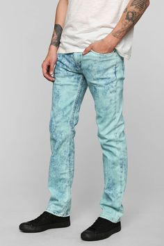 BESTSELLER! Levi's 511 Graphic Bleach Skinny Jean - Urban Outfitters $39.99