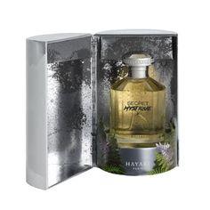 Eau de parfum Secret Mystique  Notes de tête : myrrhe / oud / bois de cachemire Notes de cœur : bois d'oranger / safran / bois de gaiac Notes de fond : patchouli / ciste / ambre gris