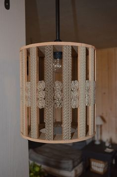 Diy And Crafts, Paper Crafts, Cardboard Art, Lamp Shades, Decoration, Light Fixtures, Sweet Home, Table Lamp, Ceiling Lights