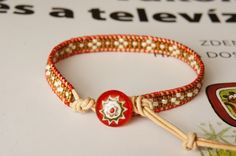 seed beads wrap bracelet