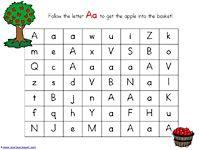 Alphabet Mazes A